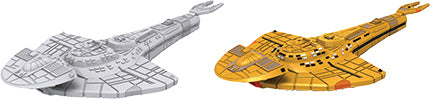 Star Trek Deep Cuts Unpainted Ships: Cardassian Galor Class