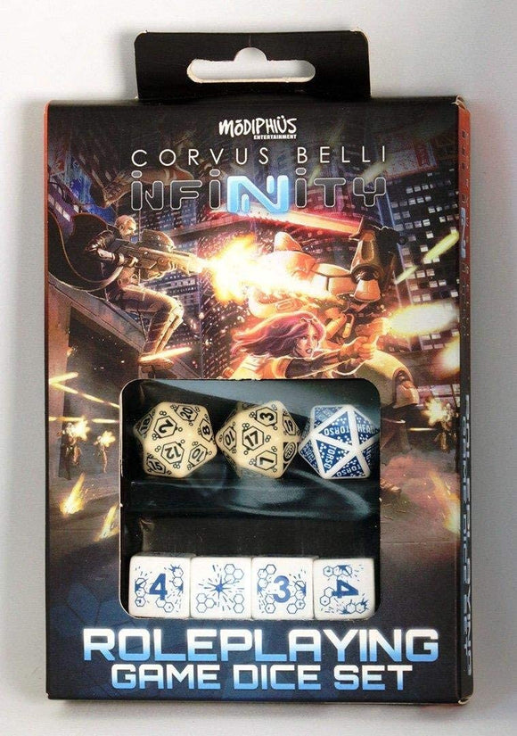 Infinity RPG: Dice Set- Aleph Box
