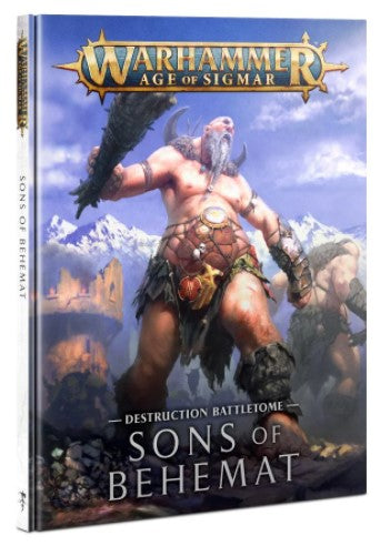 Warhammer Age of Sigmar - Battletome: Sons of Behemat
