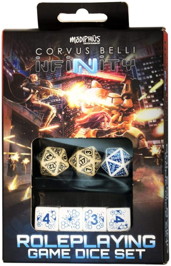Infinity RPG: Dice Set- Haqqislam Box