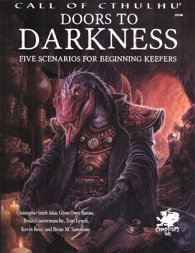 Call of Cthulhu: Doors to Darkness Hardcover