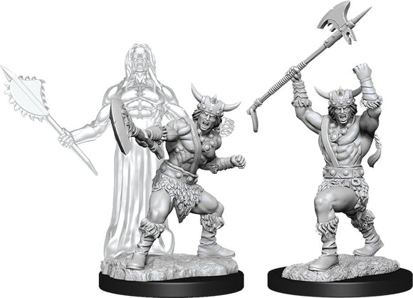 Dungeons & Dragons Nolzur`s Marvelous Unpainted Miniatures: W11 Male Human Barbarian