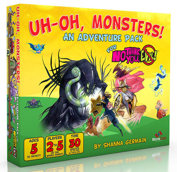 No Thank You Evil! RPG: Uh-Oh Monsters!