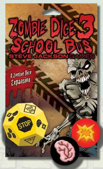 Zombie Dice: 3 - School Bus Expansion