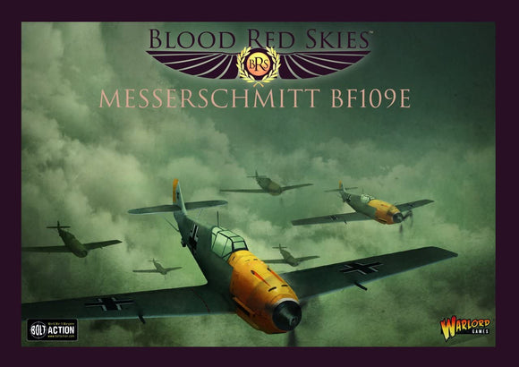 Blood Red Skies Messerschmitt BF109 E Squadron 1:200 WWII Mass Air Combat War Game