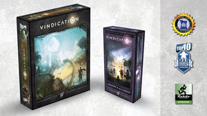 Vindication Board Game - KICKSTARTER EDITION (Green Tier - Everything)