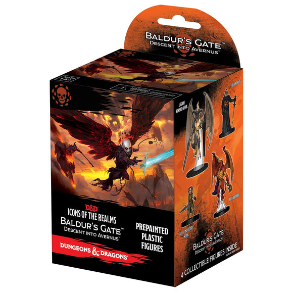 Dungeons & Dragons Fantasy Miniatures: Icons of the Realms Set 12 Baldur`s Gate Descent into Avernus Booster