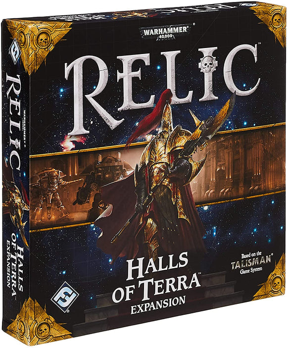 Warhammer 40,000 Relic Board Game (Talisman) - Halls of Terra Expansion
