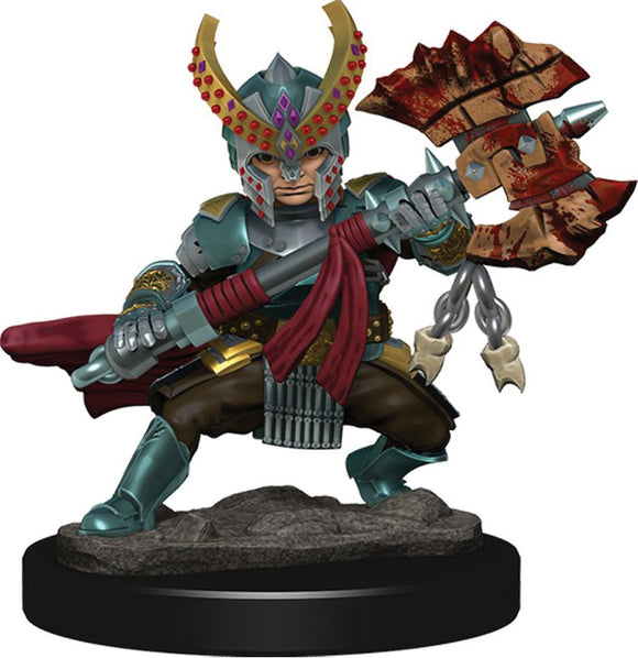 Dungeons & Dragons Fantasy Miniatures: Icons of the Realms Premium Figures W5 Halfling Fighter Female