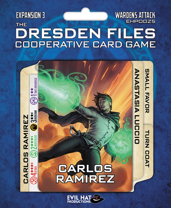 The Dresden Files Cooperative Card Game: Expansion 3 - Wardens Attack