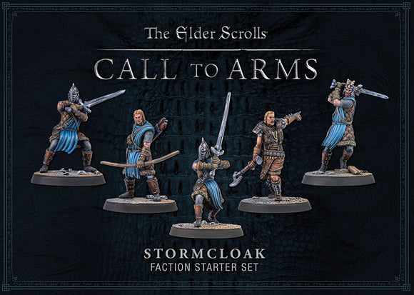 Elder Scrolls: Call To Arms: Stormcloak Plastic Faction Starter