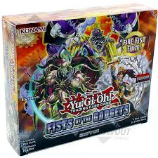 Yu-Gi-Oh! Fist of The Gadget Booster Box
