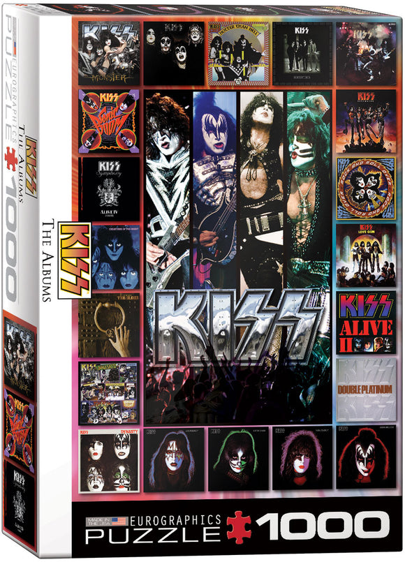 EuroGraphics Kiss - The Albums 1000-Piece Puzzle