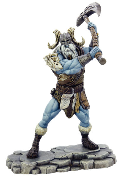 Dungeons and Dragons RPG: Icewind Dale: Rime of the Frostmaiden - Frost Giant Ravager (1 fig)