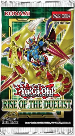Yu-Gi-Oh! TCG: Rise of the Duelist Booster Pack