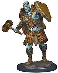 D&D Icons of the Realms: Premium Miniature - Goliath Male Fighter