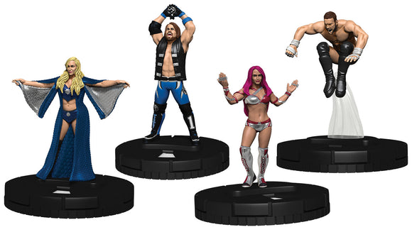 WWE HeroClix: Mixed Match Challenge WWE Ring 2-Player Starter Set