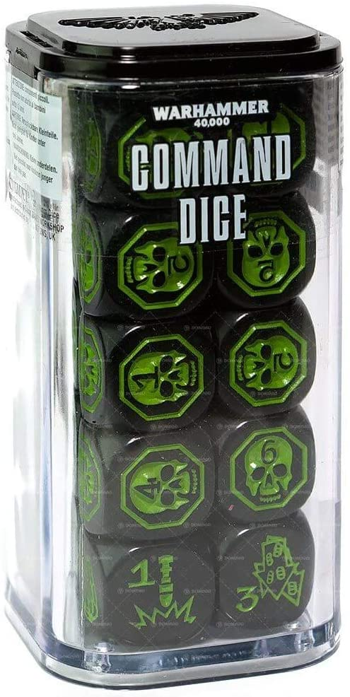 Warhammer 40,000 - Command Dice