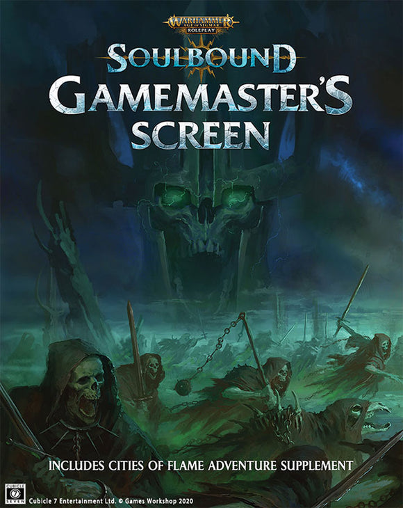 Warhammer Age of Sigmar - Soulbound: Gamemaster`s Screen