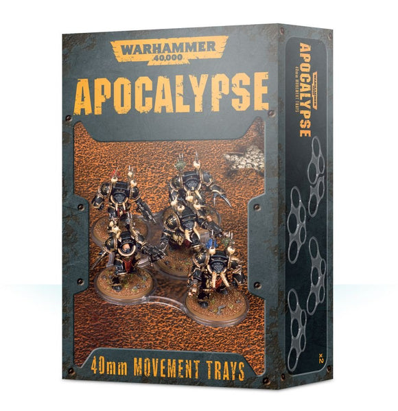 Warhammer 40,000 - Apocalypse 40mm Movement Trays