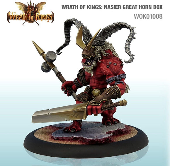 Wrath of Kings: Nasier Great Horn Box