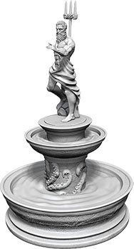WizKids Deep Cuts Unpainted Miniatures: W10 Fountain