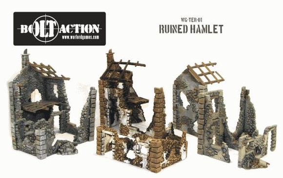 Bolt Action: Ruined Hamlet