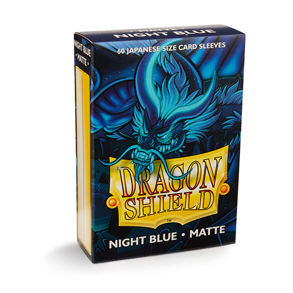 Dragon Shield Sleeves: Japanese- Matte Night Blue (60 ct.)