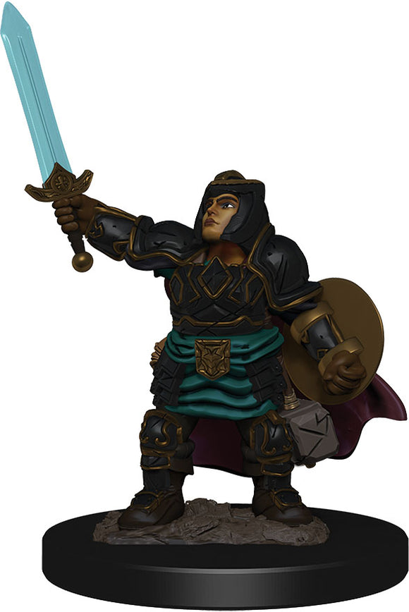 D&D Icons of the Realms: Premium Miniature - Dwarf Male Paladin