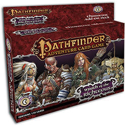 Pathfinder Adventure Cardgame: Wrath of the Righteous- Character Add-On