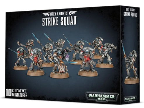 Copy of Warhammer 40,000 - Grey Knight Strike Squad