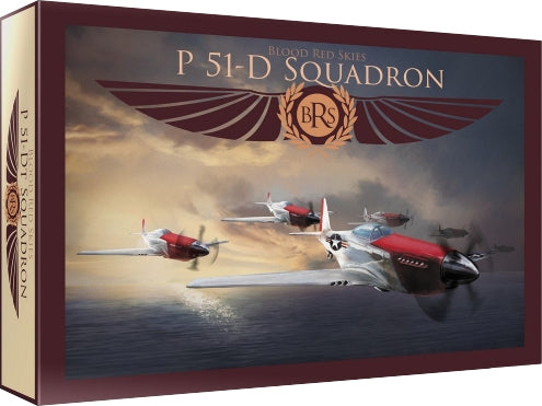 Blood Red Skies: US P-51 Mustang - 6 planes