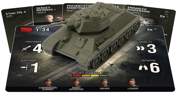 World of Tanks: Miniatures Game - Soviet T-34
