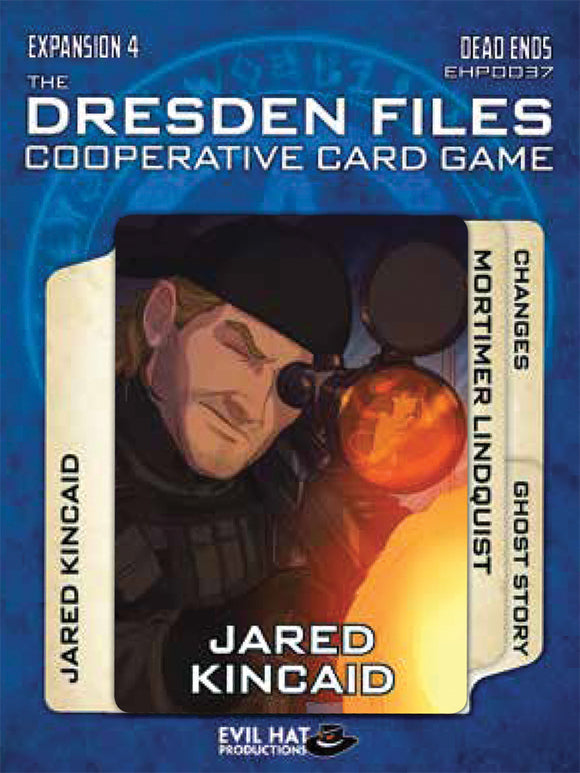 The Dresden Files Cooperative Card Game: Expansion 4 - Dead Ends