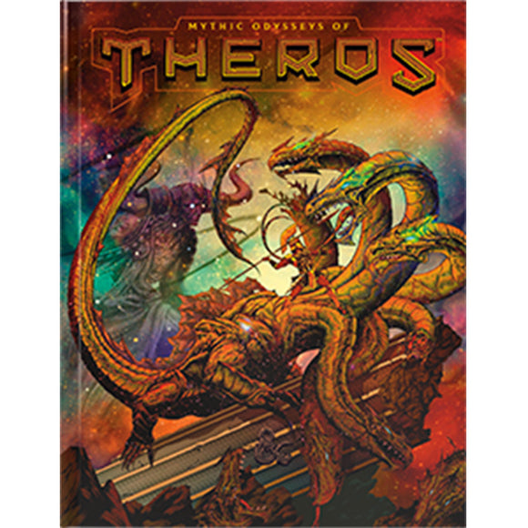 D&D 5th Edition: Mythic Odysseys of Theros, Alternate Cover (Hardcover) AVAILABLE 7/21