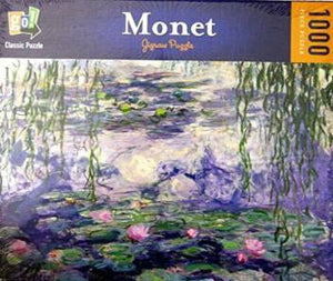 CONSIGNMENT - Monet 1000 Piece Jigsaw Puzzle