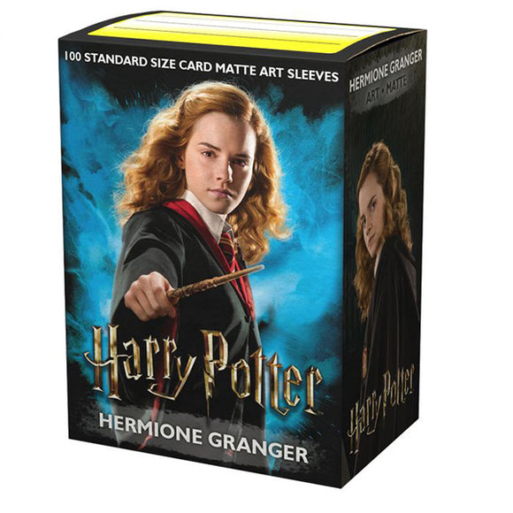Dragon Shield Sleeves: Standard- Matte 'Hermione Granger' Art, Limited Edition (100 ct.)
