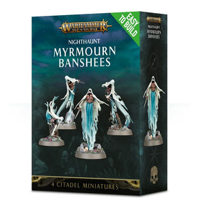 Warhammer Age of Sigmar -Nighthaunt Myrmourn Banshees (EASY TO BUILD)
