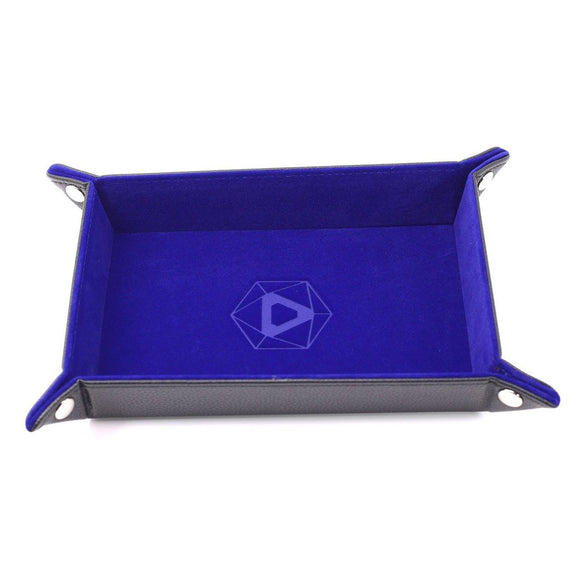 Table Armor Folding Dice Tray (Rectangle) w/ Blue Velvet