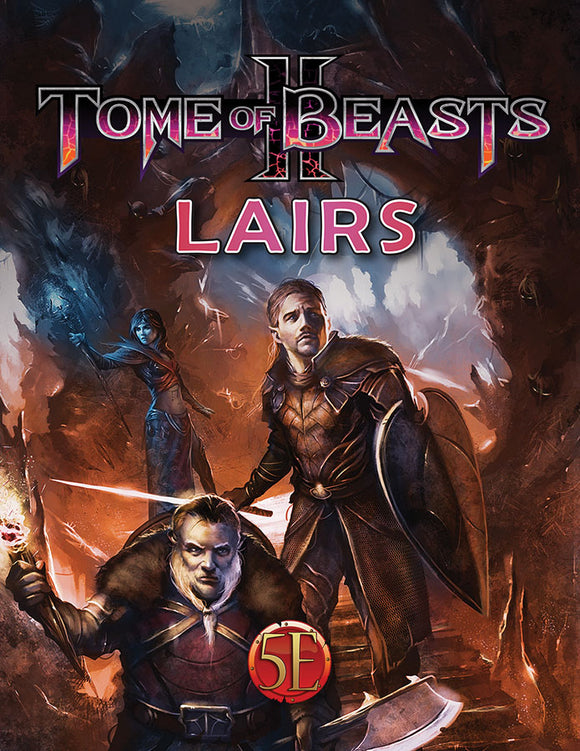 Dungeons and Dragons RPG: Tome of Beasts II Lairs
