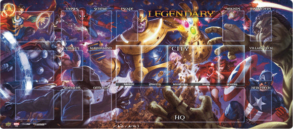 Legendary DBG: Thanos vs. The Avengers Playmat
