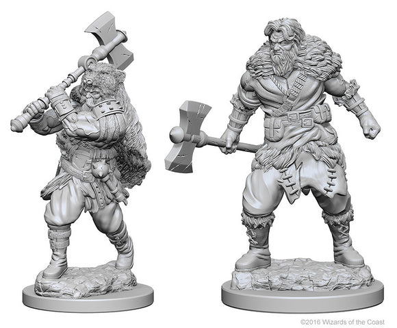 Dungeons & Dragons Nolzur`s Marvelous Unpainted Miniatures: W1 Human Male Barbarian