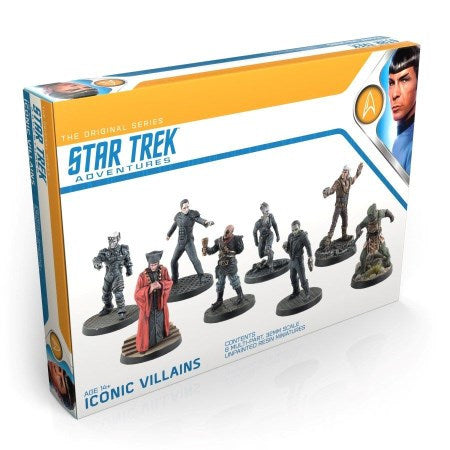 Star Trek Adventures RPG: Minis Set - Original Series Iconic Villains