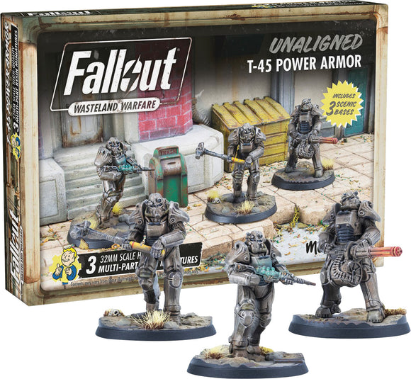 Fallout: Wasteland Warfare - Unaligned T-45 Power Armour