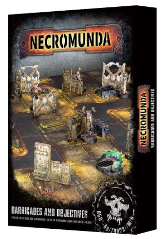 Warhammer 40,000 - Necromunda Barricades and Objectives