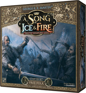 A Song of Ice & Fire Tabletop Miniatures Game: Free Folk Starter Set