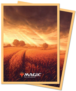 Deck Protectors: MTG  Unstable Deck Protector Sleeves (100 count) Plains