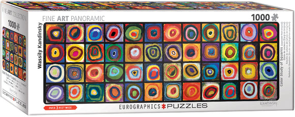 EuroGraphics Color Study of Squares (Expanded from original) 1000-Piece Puzzle