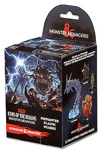 Dungeons & Dragons Fantasy Miniatures: Icons of the Realms Set 4 Monster Menagerie Standard Booster