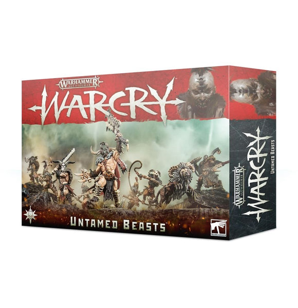 Warhammer: Age of Sigmar - Warcry Undtamed Beasts